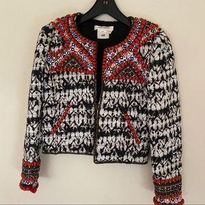 Isabel marant pour H&M embellished tie dye jacket